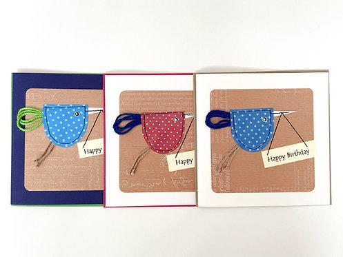 """Karte - """"Happy Birthday"""""""