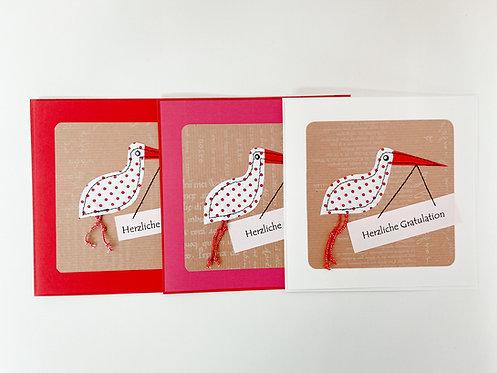 """Karte - """"Storch"""""""
