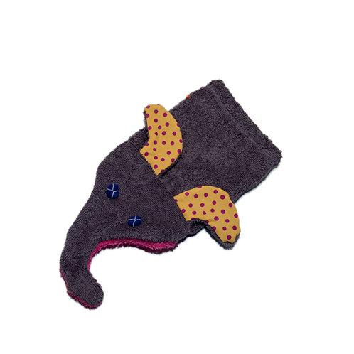 Elefant-Waschlappen