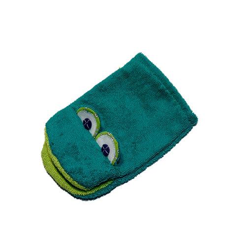 Frosch-Waschlappen