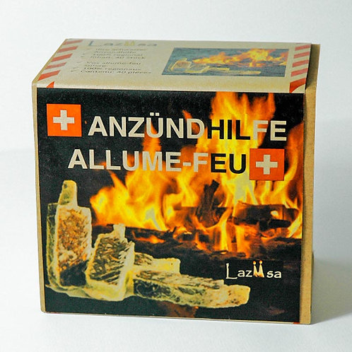 «Lazüsa» COMPACT Andzündhilfen