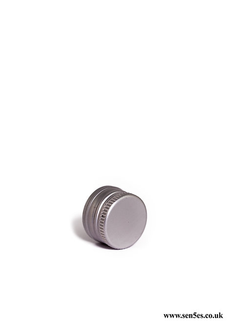 24mm Silver Metal Caps