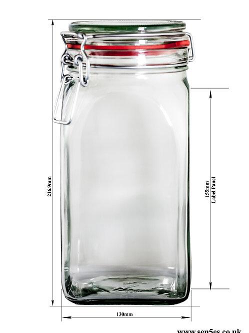 1550ml KilnClip Jar