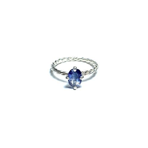 Bicolor sapphire ring R026