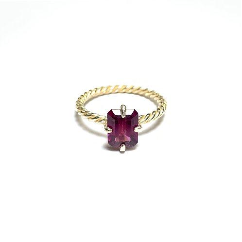 Rhodolite Garnet ring R044