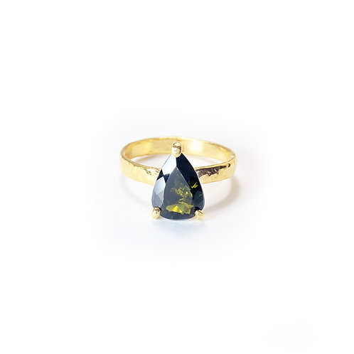 Green Tourmaline Ring  R106