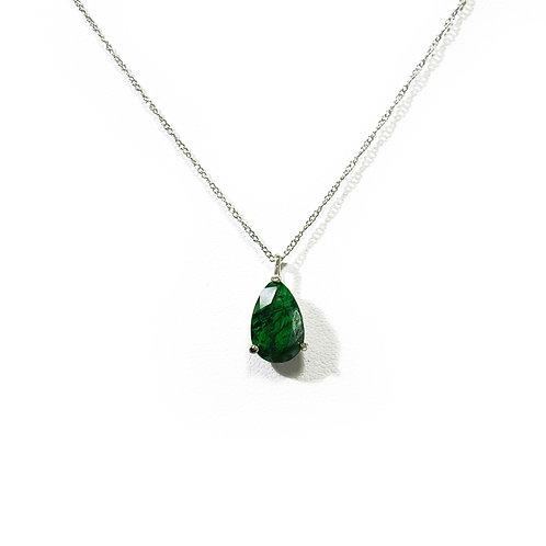 Kosmochlor necklace N021