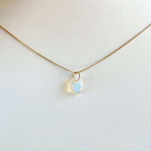 Opal K18 necklace N017