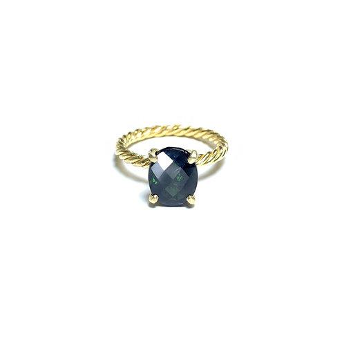 Green tourmaline ring R035