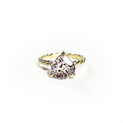 Fire quartz Ring  R111