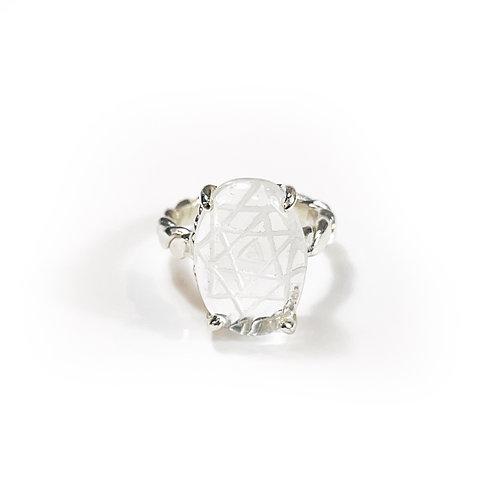 Fortune ring -Shri Yantra-  R117