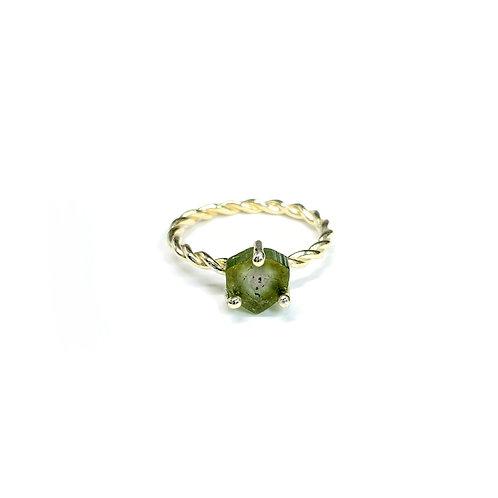 Bicolor Tourmaline ring  R089