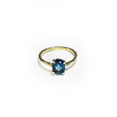 London blue topaz ring R114