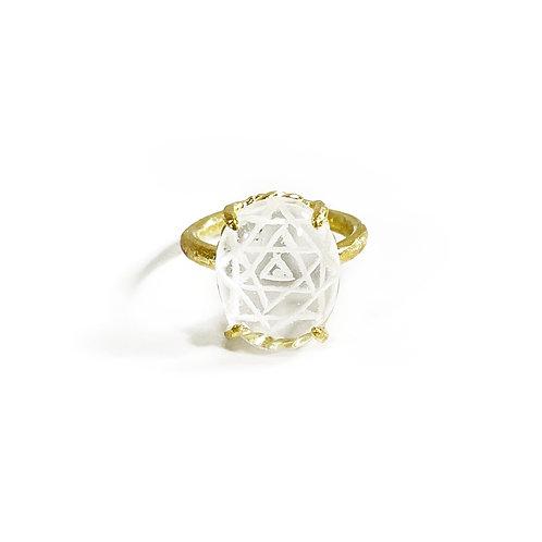 Fortune ring -Shri Yantra- R126