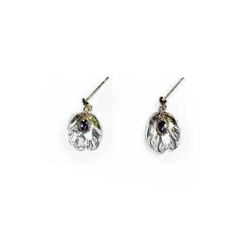 K10 Petal earrings - aiolite -