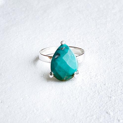 Tibetan turquoise ring R153