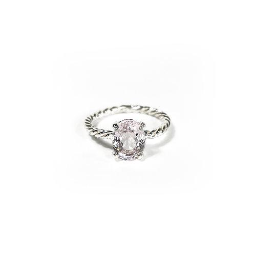 Morganite ring R152