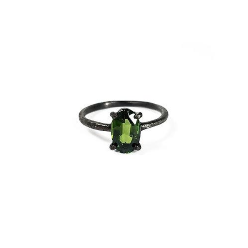 Green Tourmaline ring UR136
