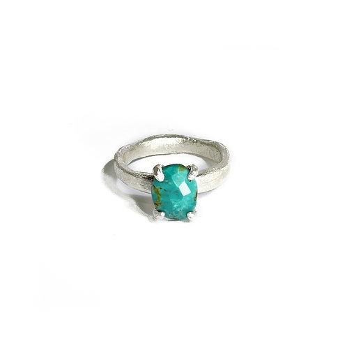 Tibetan turquoise ring R151