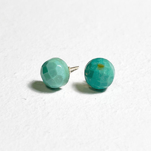 K10 Tibetan Turquoise earrings E035