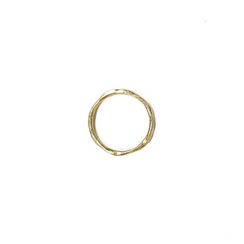 Wave ring - gold - R011