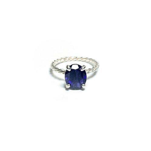 Iolite ring R025