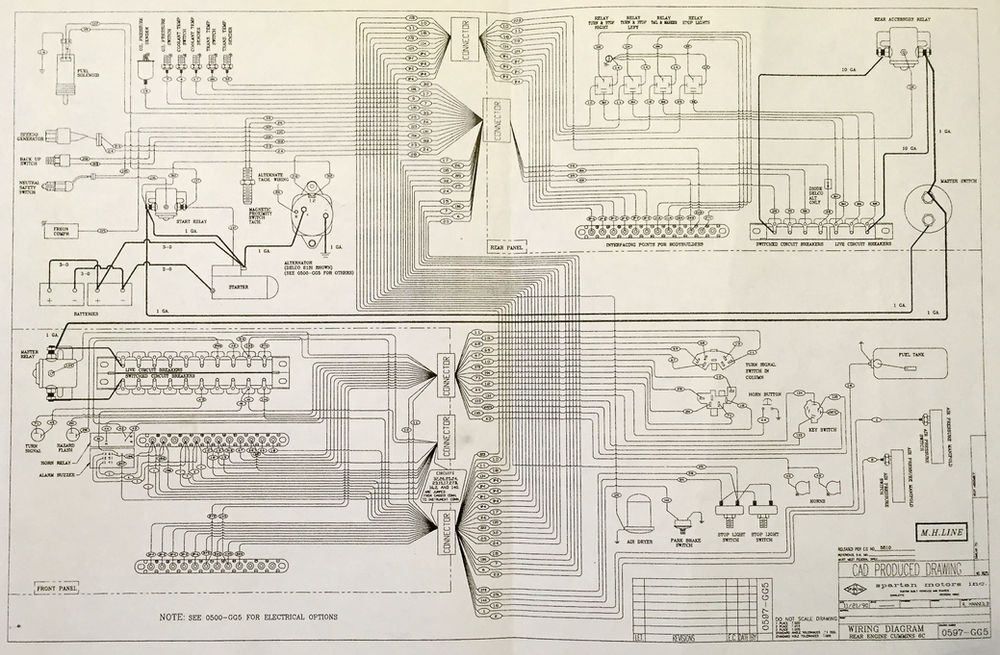 Wiring Diagrams for Spartan Chassis | Spartan Force Wiring Diagram |  | Wix.com