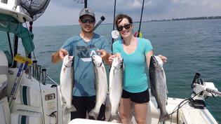 lake erie rainbow trout