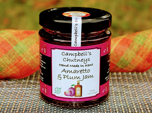 Amaretto & Plum Jam