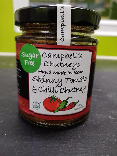 Skinny Tomato & Chilli Chutney