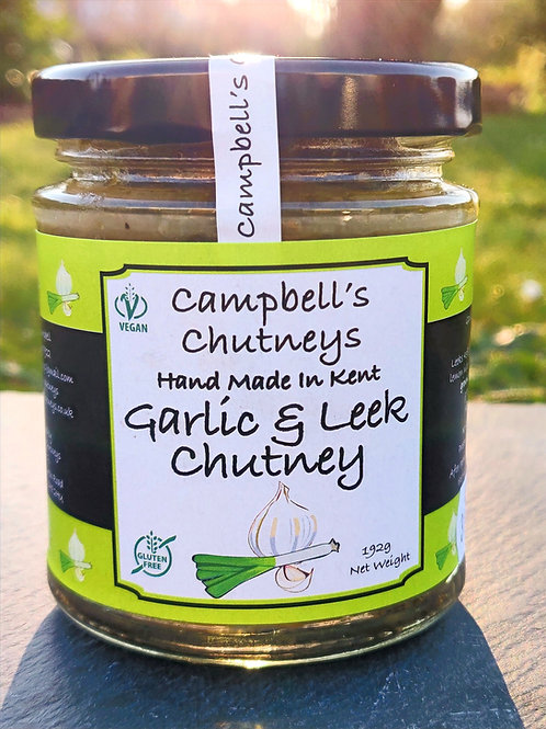 Garlic & Leek Chutney