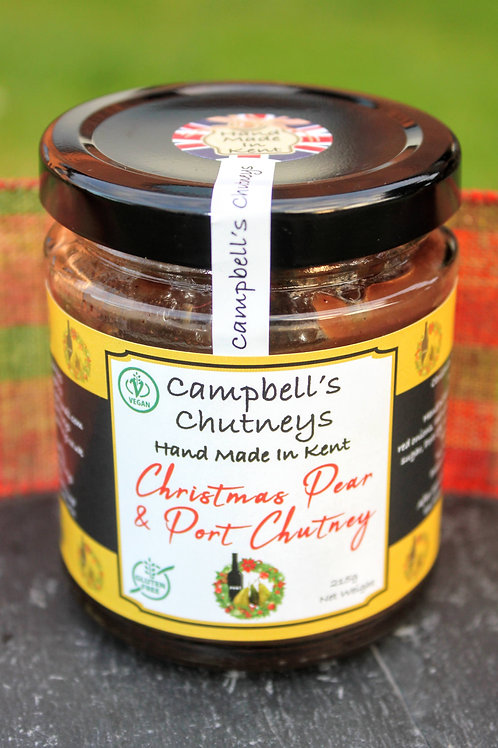 Christmas Pear & Port Chutney