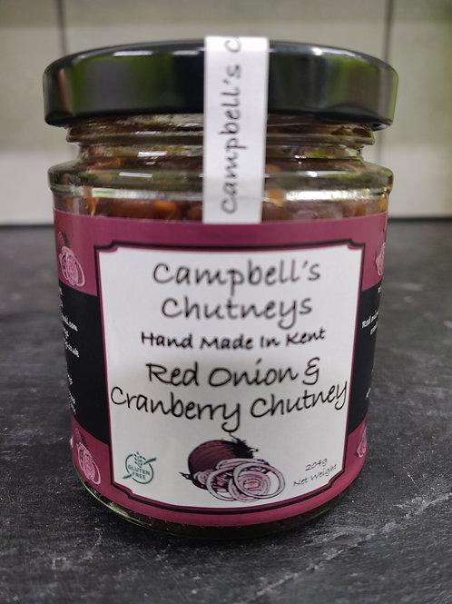 Red Onion & Cranberry Chutney