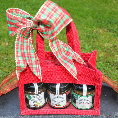 Christmas Chutney Gift Bag