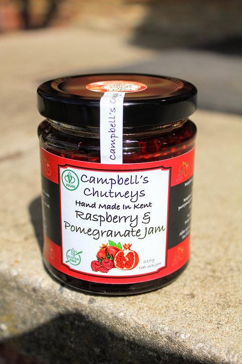 Raspberry & Pomegranate Jam
