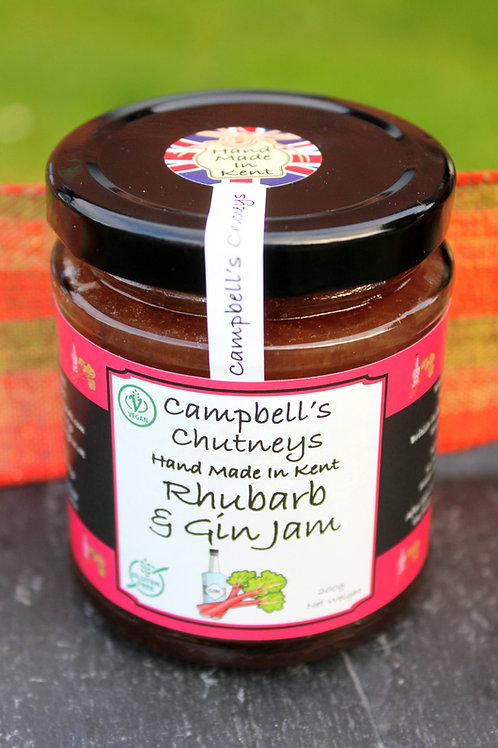 Rhubarb & Gin Jam