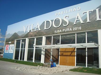 Stand Vila Olímpica