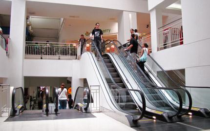 Escadas rolantes Shop. Nova América