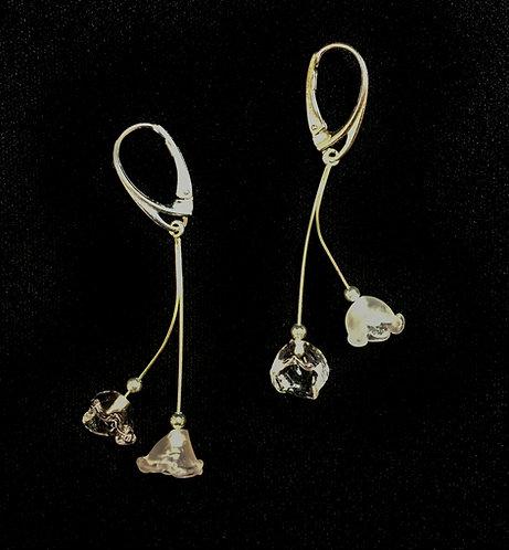 Boucles d'oreilles duo de clochettes