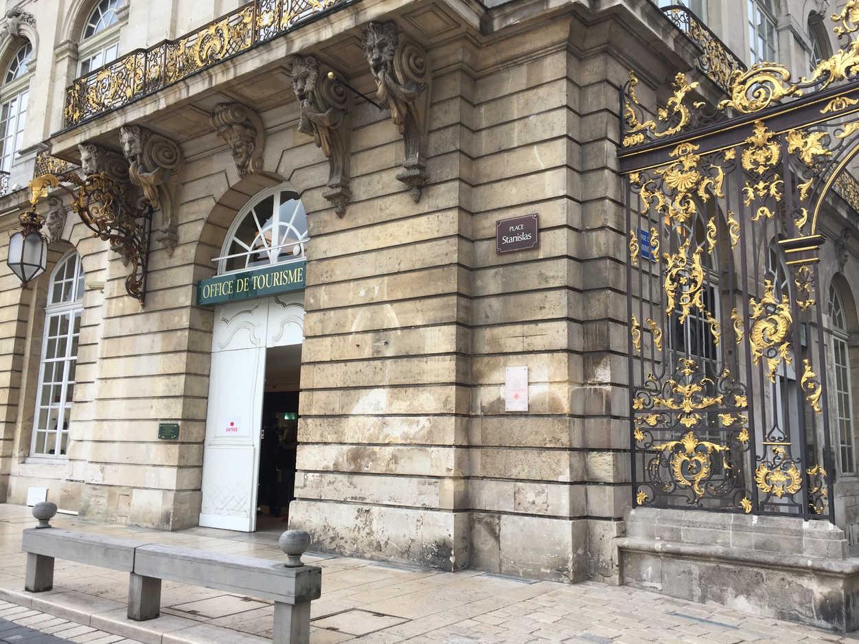 Office du tourisme de Nancy - Place Stanislas