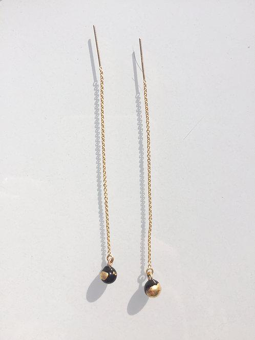 Boucles d'oreilles Renaissance chaines
