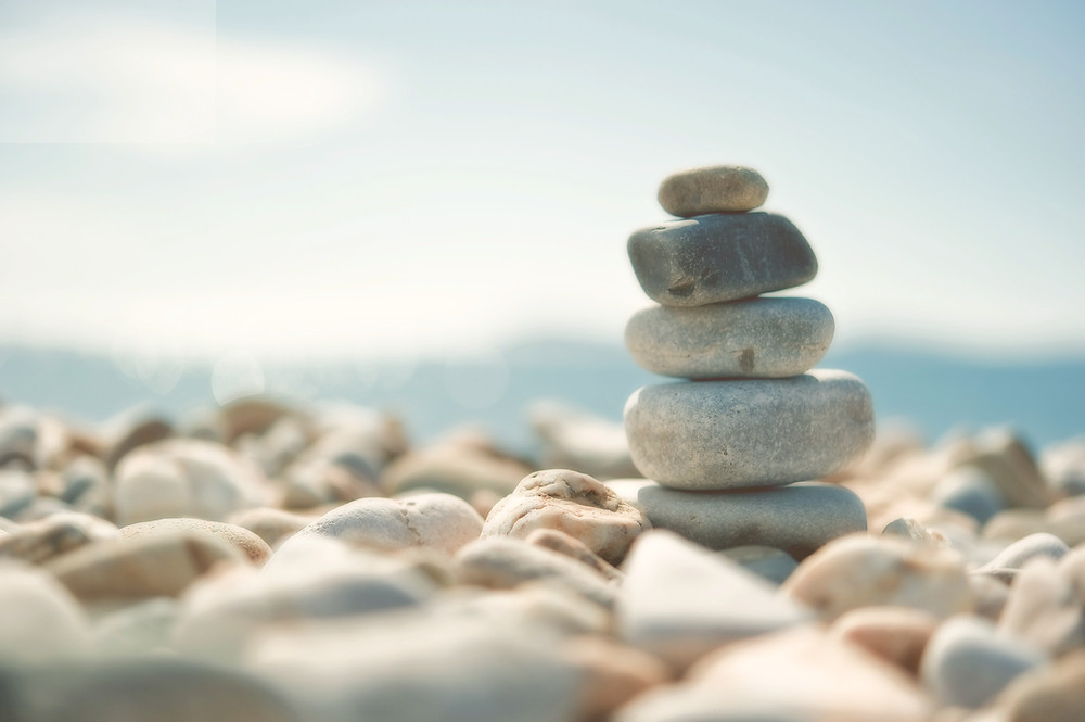 Zen Meditation | Stones on a Beach | Learn to Let Go Of Stress