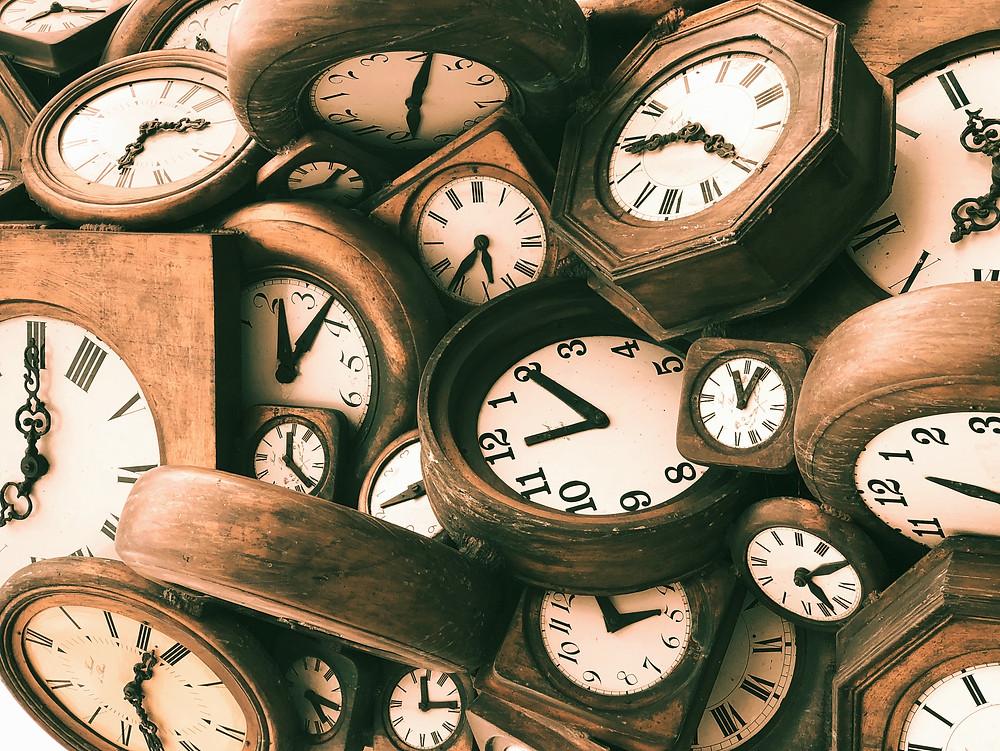 Clocks - Time - Womanhood -