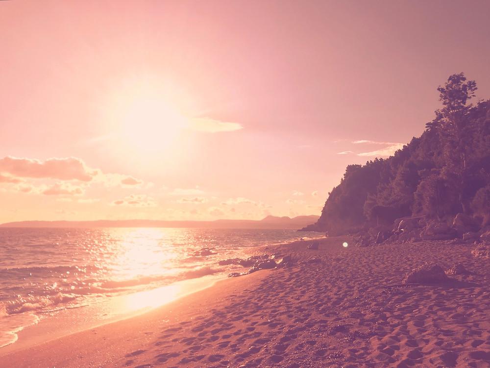 Pink Sunset | Thought Blog | www.AlwaysChoose.com