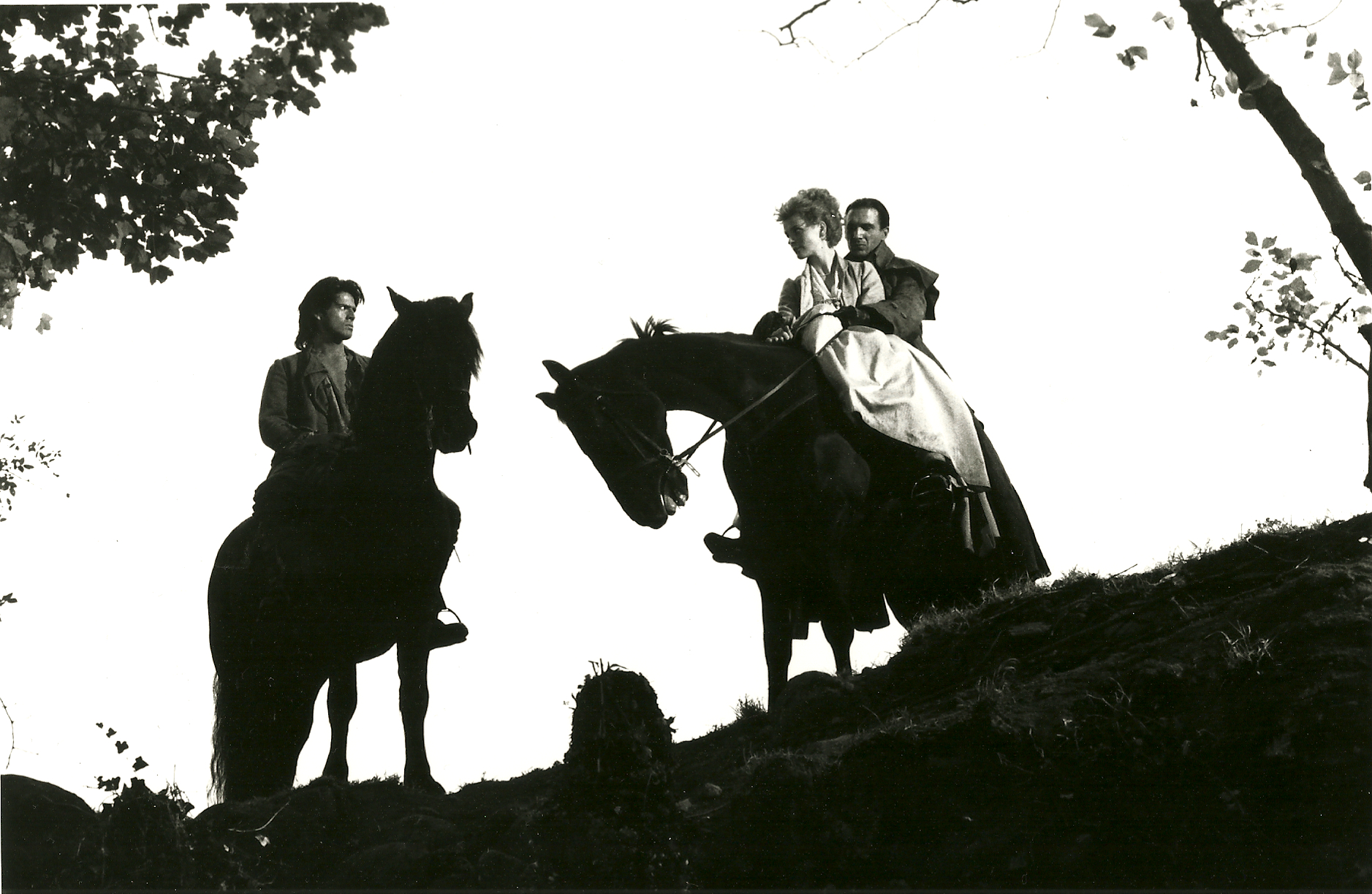 As Hareton in WUTHERING HEIGHTS