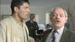 With David Jason in A TOUCH OF FROST