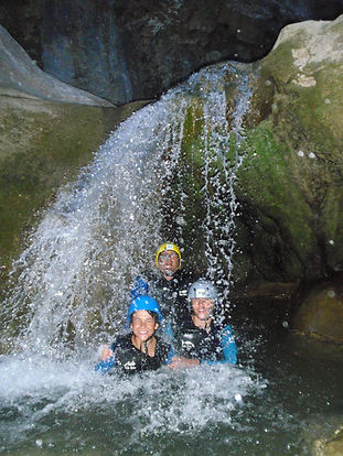 Canyon de terminet/canyoning-pyrenees-orientales