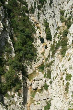 Canyon des Gorges de Galamus