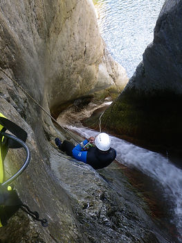 canyon gourg des anelles/canyoning-pyrenees-orientales