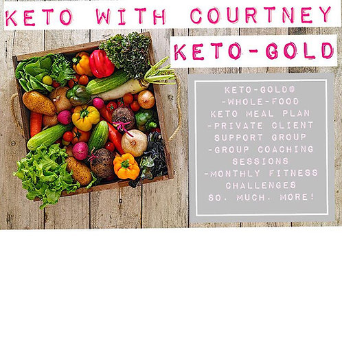 KWC Keto-Gold© 3-Month Membership ( October, November, December 2020)